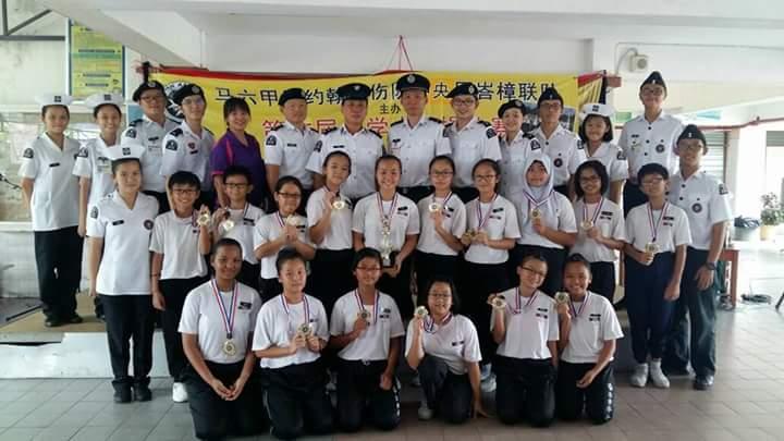 本校圣约翰救伤队参加大队操荣获第一名,林杏鍒荣获最佳队长。.jpg (720×405)
